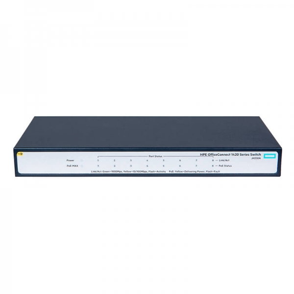 Switch Hpe 1420 8G PoE+ 64W (JH330A)